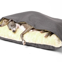 Dog Snuggle Beds in Weave
