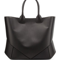 Easy Medium Leather Tote Bag, Black - Givenchy