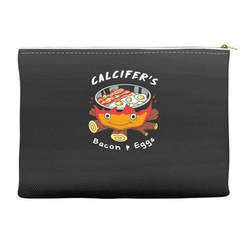 calcifer's bacon and eggs Accessory Pouches