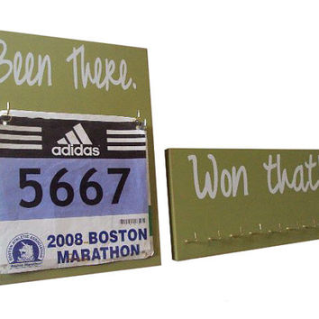 Running accessories - Running medals holder and race bib holder