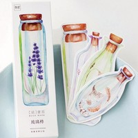 30-Pack of Flower in a Bottle Bookmarks