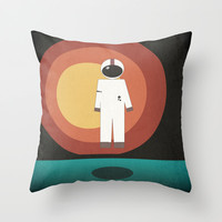 Brand New Throw Pillow by brittcorry