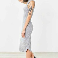 Silence + Noise Cozy Mock-Neck Midi Dress