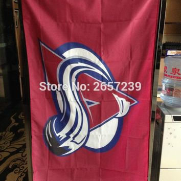 Colorado Avalanche Flag 3x5FT NHL banner 100D 150X90CM Polyester brass grommets custom66,free shipping