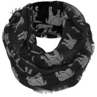Elephant Print Snood - Scarves  - Bags & Accessories