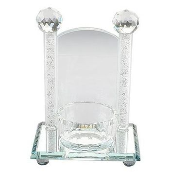 Crystal Holder For Memory Candle 13*12 Cm