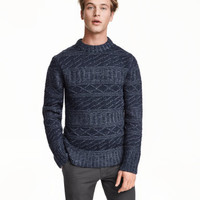 H&M Pattern-knit Sweater $59.99