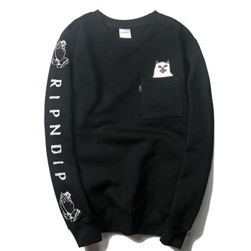 Trendsetter Ripndip Women Men Fashion Casual Top Sweater Pullover