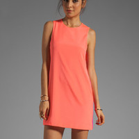 Naven Sporty Twiggy Dress in Neon Salmon/Pop Pink from REVOLVEclothing.com