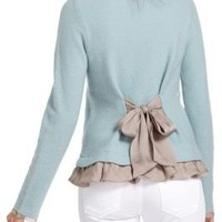 Ruffled Duster Sweater - Anthropologie.com