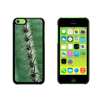 Green Cactus Skin Thorns Southwest Case for Apple iPhone 5C