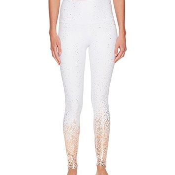Beyond Yoga Alloy Ombre High-Waisted Midi Leggings