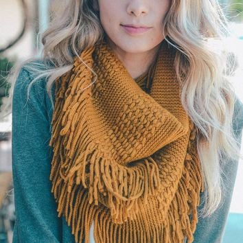 Fringe Infinity Scarf - More Colors