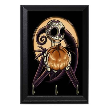 Jack Skellington Pumpkin Geeky Wall Plaque Key Holder Hanger
