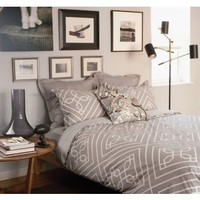 DwellStudio Trellis Bedding in Dove - Duvet Covers & Shams - Bedding - Category