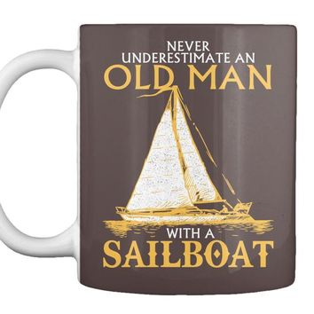 Old Man With A Sailboat - Tank|Vneck