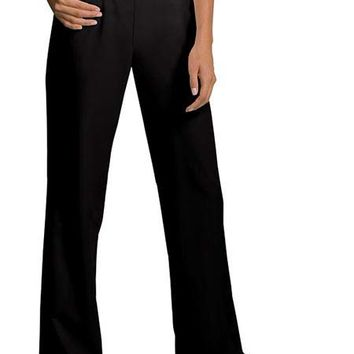 Buy Cherokee Bamboo Planet Womens Two Pocket Flat Front Scrub Pants for $14.95