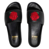 SLIDES HERMAN MARKET | BLACK