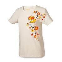 Fall Fennekin Women's Fitted Crewneck T-shirt