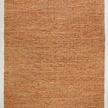 Leather-Twined Rug by Anthropologie