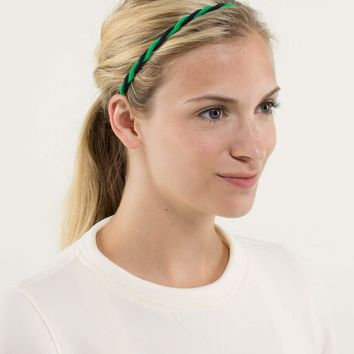 charming twist headband | women's headwear | lululemon athletica