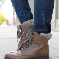Well Traveled Bootie - Taupe