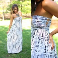 Diamond Eyes Maxi Dress