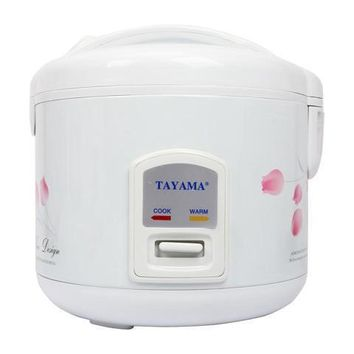 Tayama Automatic Rice Cooker & Food Steamer - 10 Cup (TRC-10)