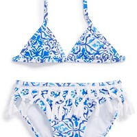 Girl's Kate Mack 'Butterfly Beach' Two-Piece Swimsuit