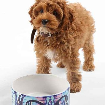 Caleb Troy For DENY Carried Away Pet Bowl Set