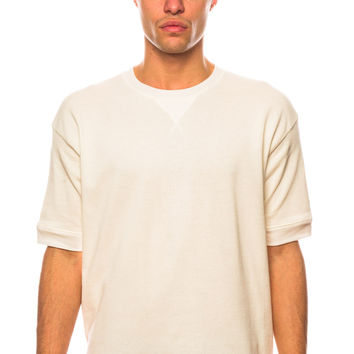 Diesel S-Lurp Ivory Sweat Shirt