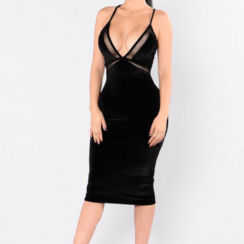 Drop Dead Gorgeous Dress - Black