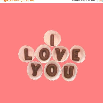 Anniversary Gift for Boyfriend Men Him BF Girlfriend Women Her I Love You Large Milk Chocolate Letters Fun Long Distance Romantic First