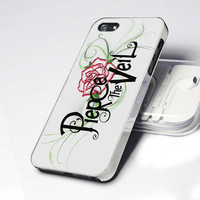 New Post Hardcore Pierce the Veil Vic Mike Fuentes White Apple iPhone 5 Case