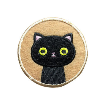 Cute Cat Patch Embroidered Cartoon Animal Sew on Iron on Patches