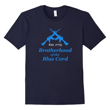 Men's Brotherhood Of The Blue Cord - Infantry- 11-Bravo T- Shirt