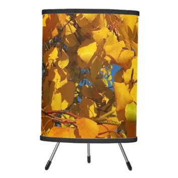 Yellow Leaves Lamp