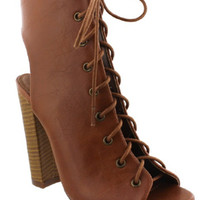 Nitty Gritty Lace Up Bootie