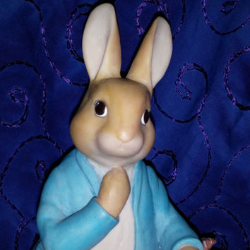 Peter Rabbit Coin Bank 1994 World Of Beatrix Potter by Frederick Warne & Co