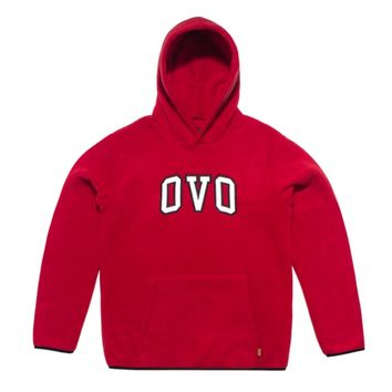 POLAR FLEECE HOODED SWEATSHIRT | October's Very Own