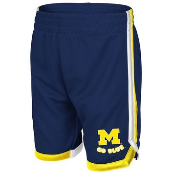 Michigan Wolverines Jumper Shorts - Toddler, Size: