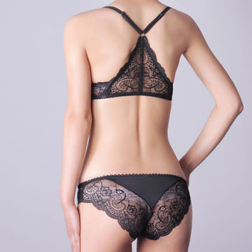 Summer Sexy Lace Bra Set Lingerie [4919970436]