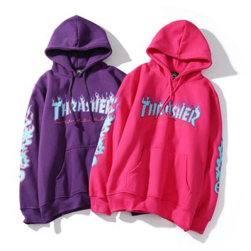 Unisex THRASHER Sweatshirt Hoodies