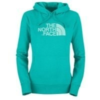 The North Face Women's Half Dome Hoodie Borealis Blue/Frosty Blue SM