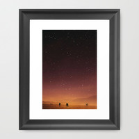 Planet Walk Framed Art Print by Stoian Hitrov - Sto