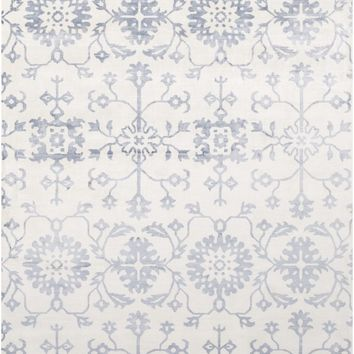 Shibori Arts and Crafts Area Rug Blue