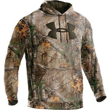 Under Armour® Big Logo Camo Hoodie : Cabela's