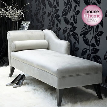 Very Velvet Chaise Longue
