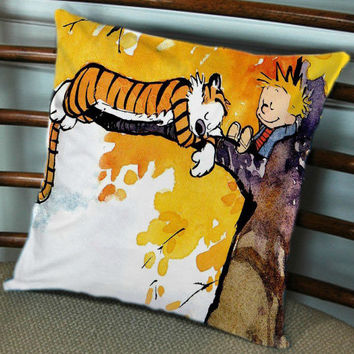 Calvin and Hobbes for Pillow cover