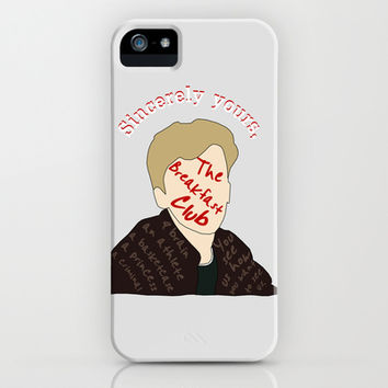 The Breakfast Club - Brian iPhone & iPod Case by Amber Grey